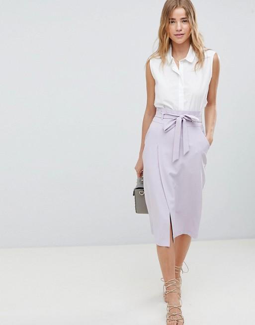 ASOS Lilac skirt $45