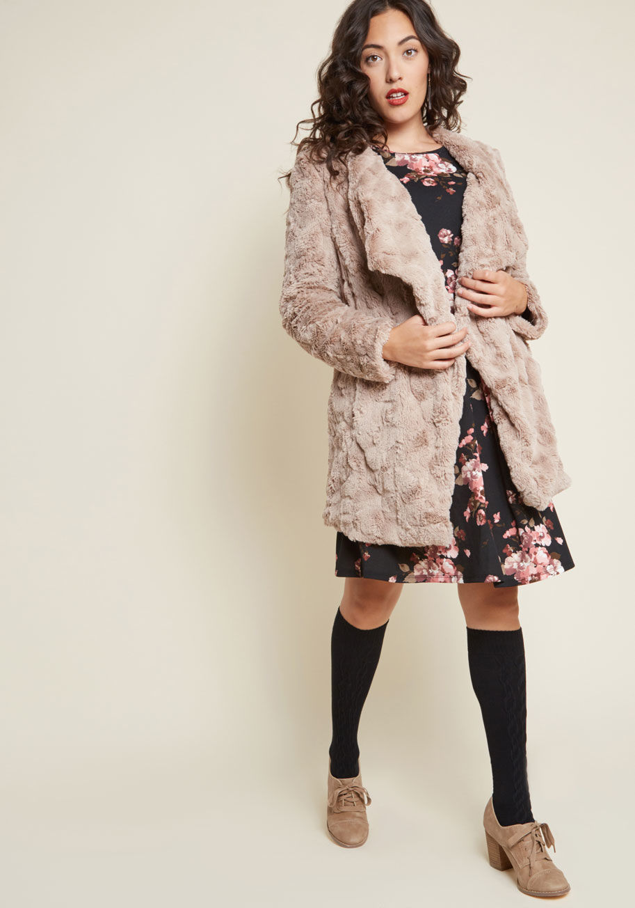 Just Delightful Faux Fur $119