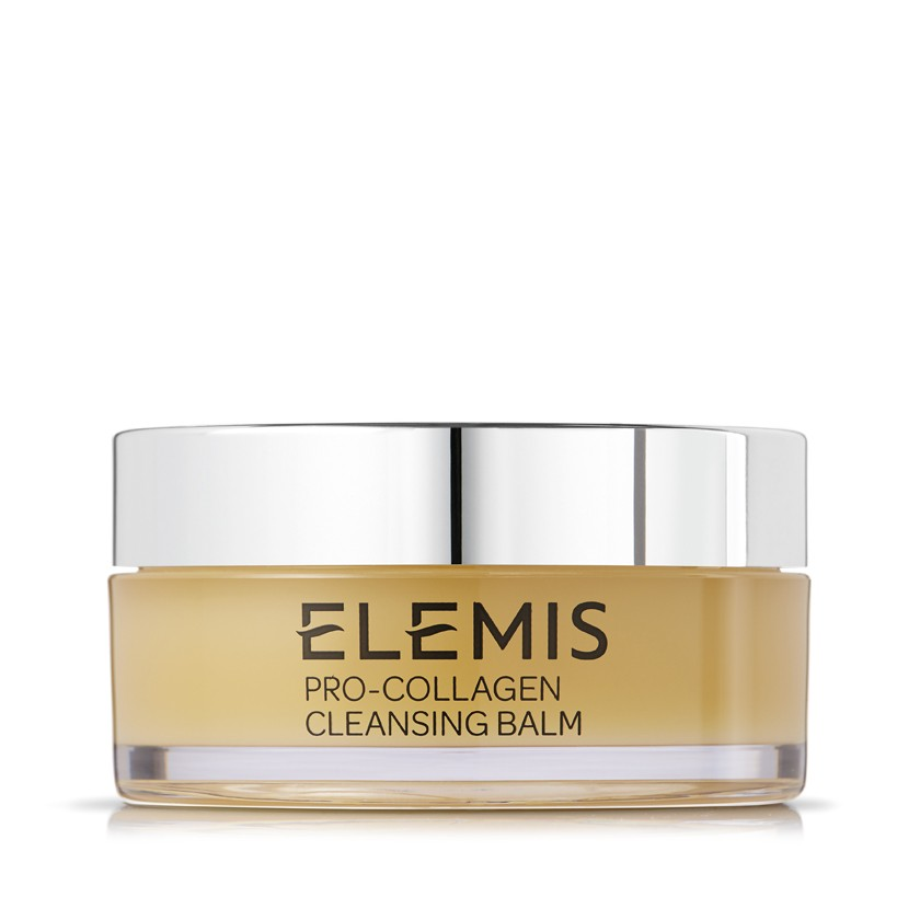 Elemis Pro-Collagen Cleansing Balm - This cleanser will change your nightly routine! I started using it a few months ago and it has helped improve my dry, tired skin, to soft and glowing through the holidays.It is a powerful deep cleaning balm that dissolves makeup, daily grime and pollutants. This No.1 Bestselling cleansing balm deep cleanses and leaves skin supremely soft. Luxurious Rose and Mimosa waxes are infused with nourishing Elderberry, Starflower and Optimega™ oils and supercharged with anti-aging algae, Padina Pavonica. It also comes in Rose scent.$64