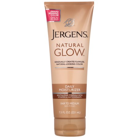 Jergens Natural Glow Daily Moisturizer - Your Summer body is made in the Winter! Along with taking care of your health, take care of your skin! Jergens natural glow keeps you moisturized all day and adds a sunless tan, to keep you glowing in the middle of Winter. It has won Best of Body Products through Allure magazine 3 years in a row!$10