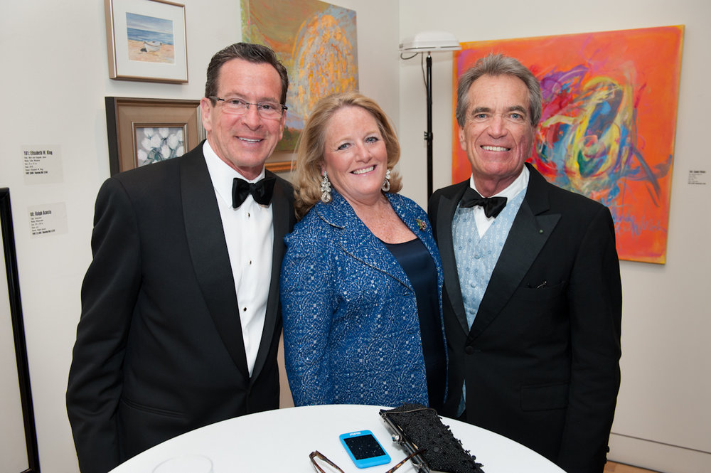 Governor Danel Malloy at the New Britain Museum of American Art Art Party of the Year 2013