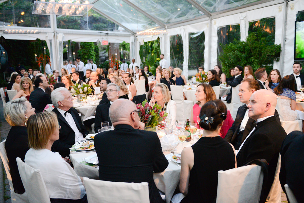 Room designed for the Friends of the Australian Wildlife Conservancy Gala at the Central Park Zoo in NYC