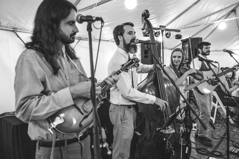 Denver band Big Time Rascals plays at a wedding reception