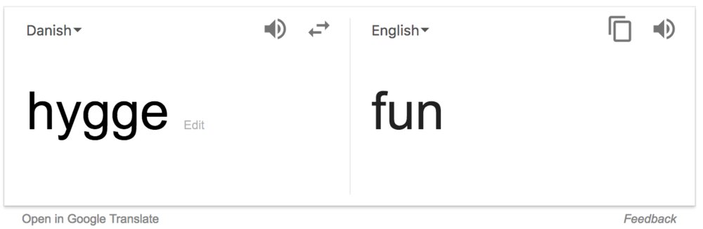 Oh Google…how you miss the nuances in this word!