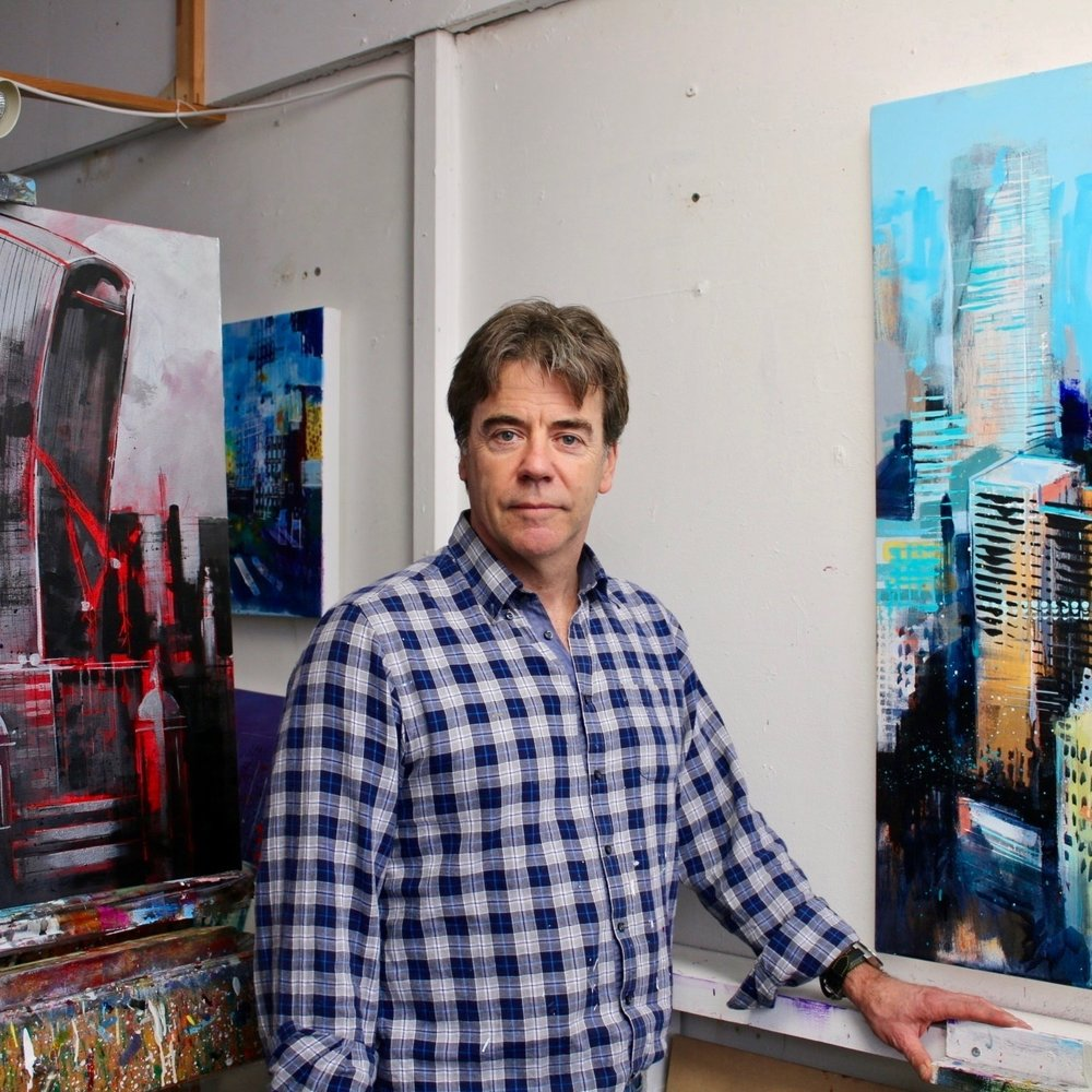 Richard Knight Studio 278 This urban impressionist captures the perpetually evolving patterns and rhythm of light created by architecture, landscape and people. Currently exhibiting across London and featured as part of Sky Landscape Artist of The Year (2016).