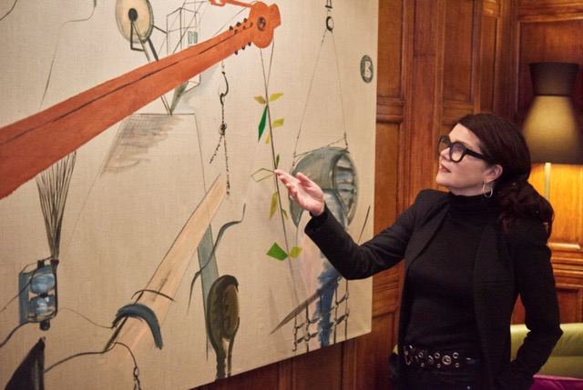 Maeve Doyle Opens Wimbledon Art Fair