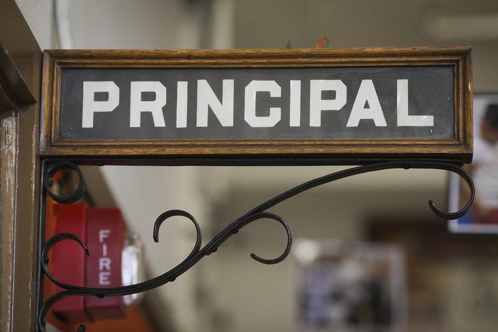 principal for a day pencil