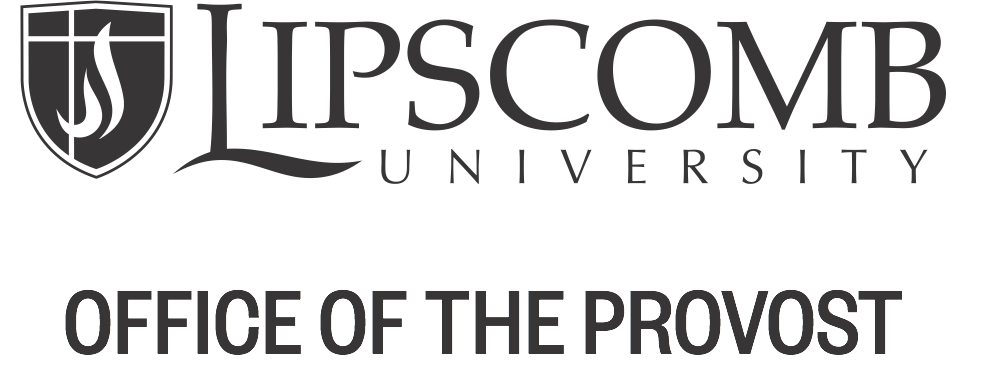 Lipscomb University - Office of the Provost