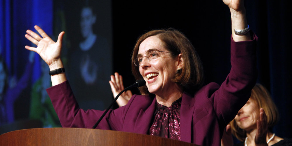 Governor Kate Brown.    File photo source: Associated Press