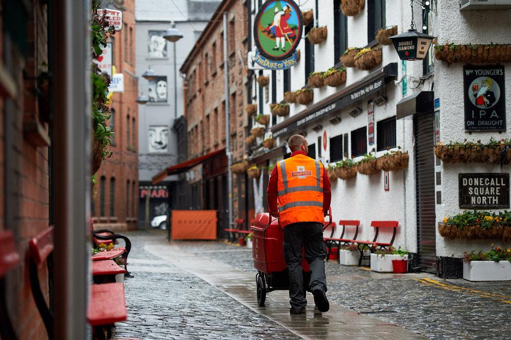 Royal Mail Belfast shootMay 2016