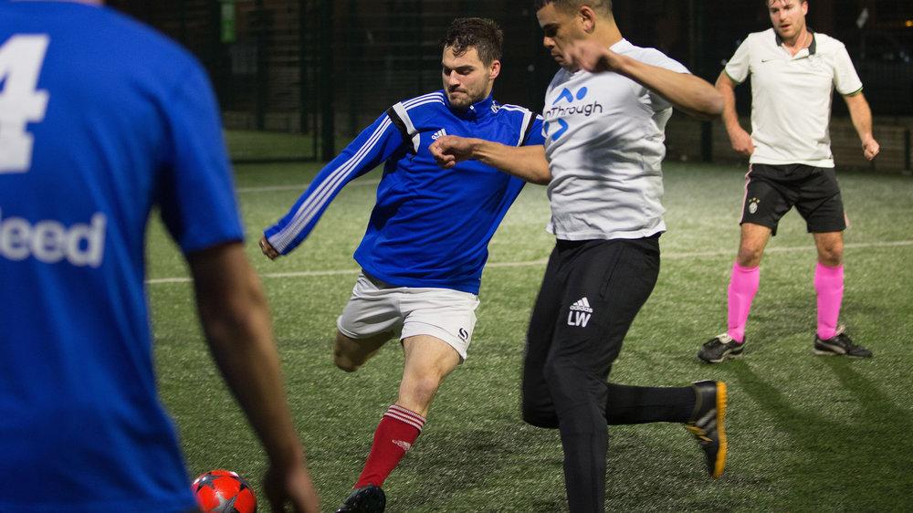 Stonewall FC. Gay football team playing at Market Road, Kings Cross. 22/2/18