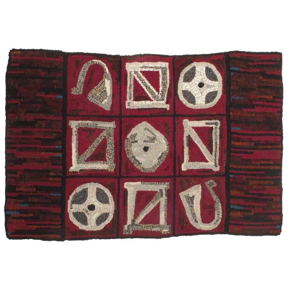 Viking Hooked Rug
