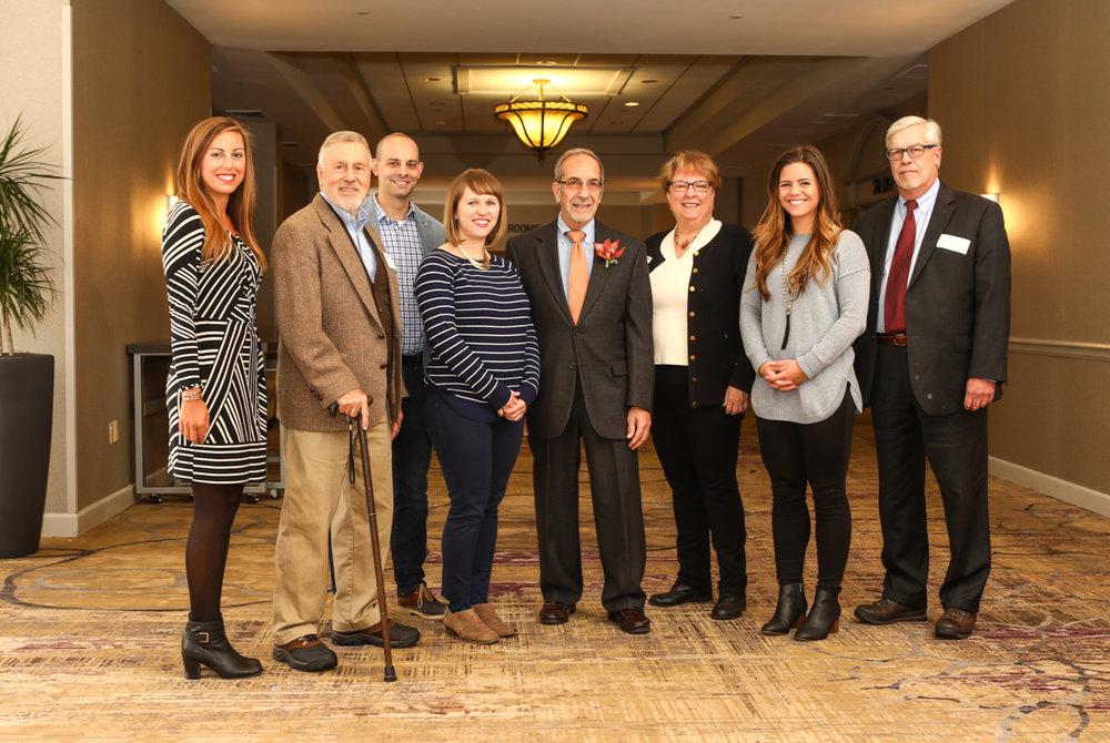 Habitat staff and board members