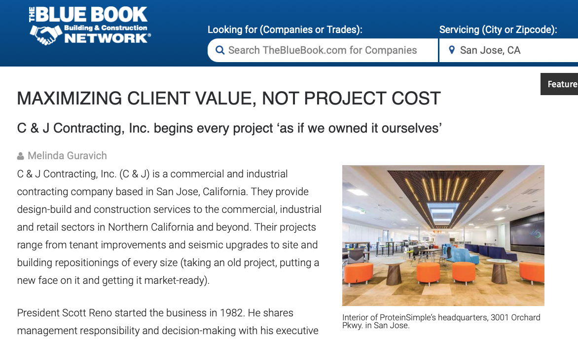 Construction Blue Book >> Take A Look At The Blue Book C J Contracting