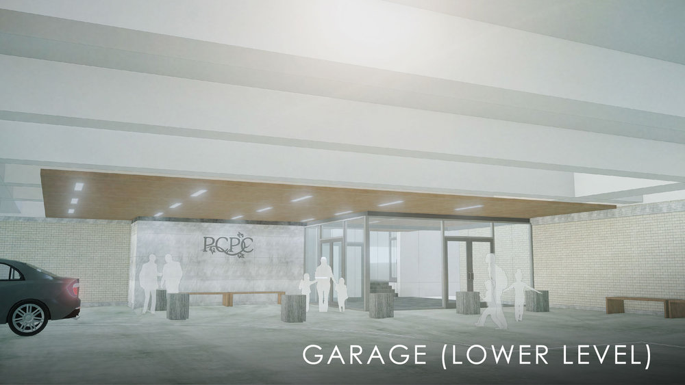 Lower Level Garage