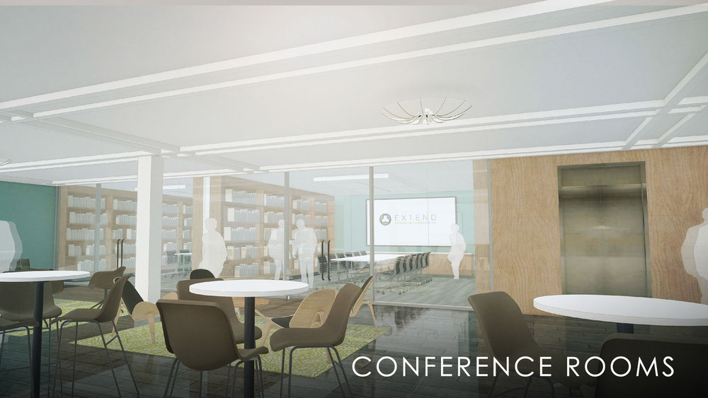 Lower Level Conference Rooms