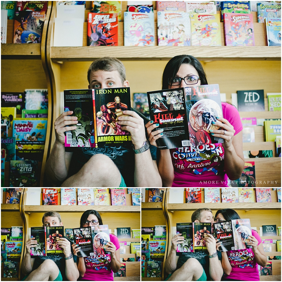 Comic Book Engagement Session_0016