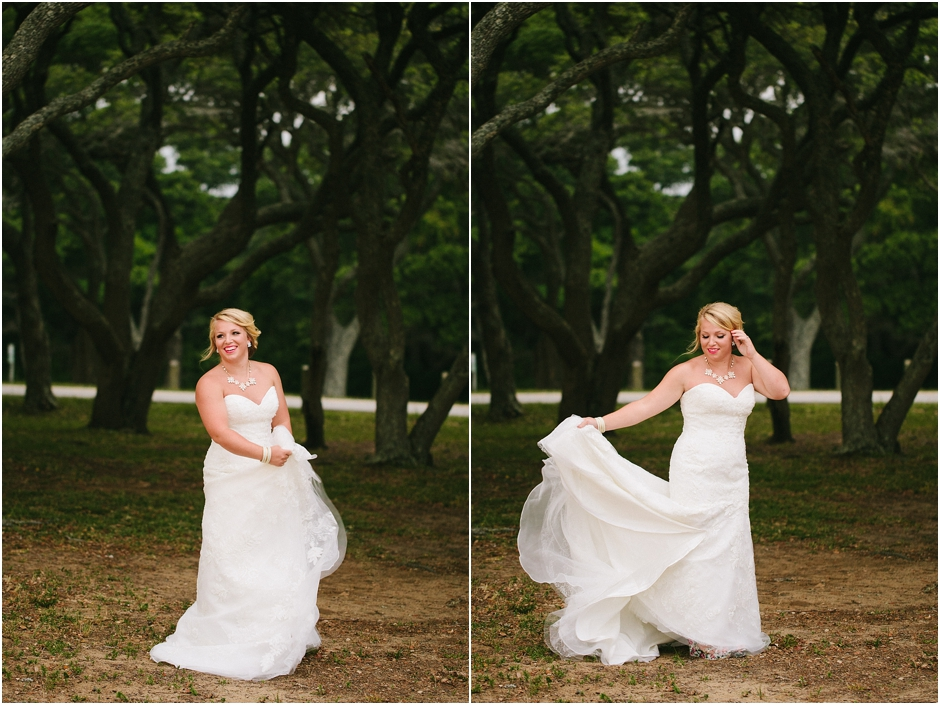 Fort Fisher Bridal Session - Amore Vita Photography_0006