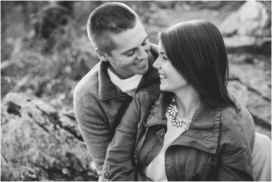 Crowders Mountain Engagement Session | Amore Vita Photography_0006