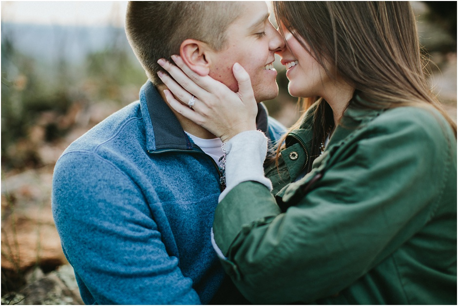 Crowders Mountain Engagement Session | Amore Vita Photography_0008