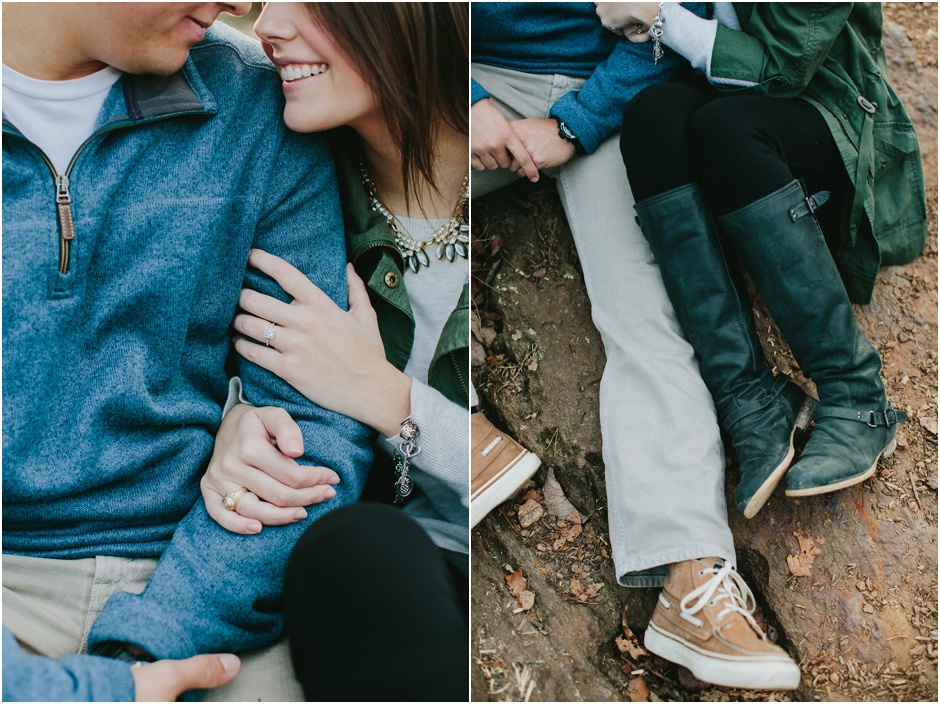 Crowders Mountain Engagement Session | Amore Vita Photography_0009