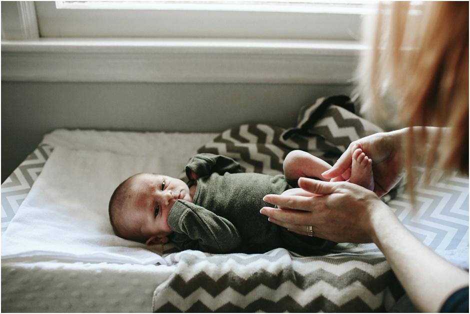 Lifestyle Newborn Session | Amore Vita Photography_0015