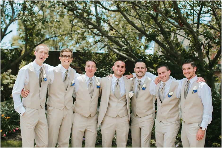 Groomsmen at Riviera at Massapequa