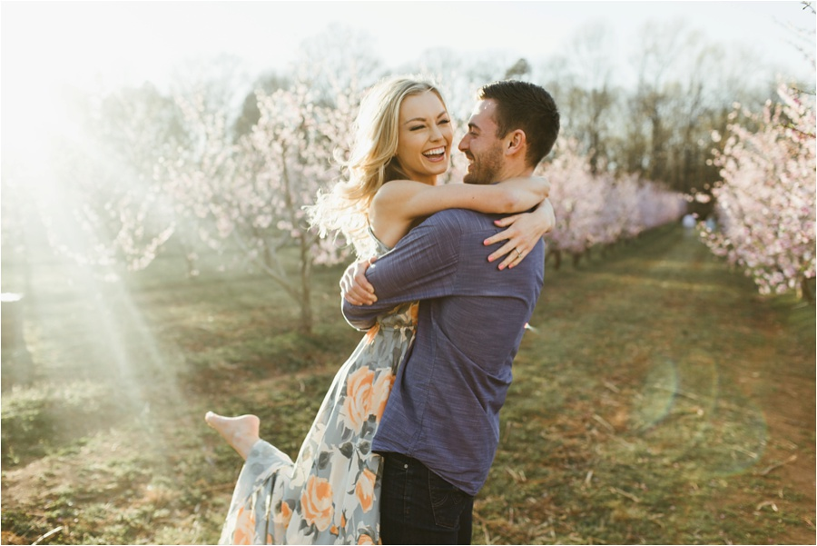 Peach Orchard Engagement Session | Amore Vita Photography_0006.jpg