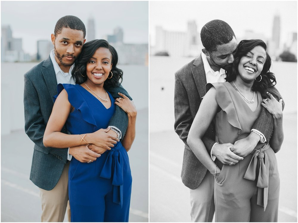 Uptown Charlotte Engagement Session | Amore Vita Photography_0005.jpg