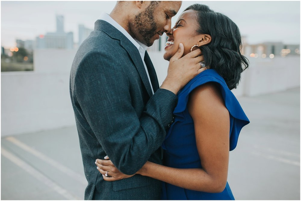 Uptown Charlotte Engagement Session | Amore Vita Photography_0006.jpg