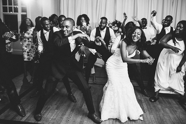 When the groom, who usually isn't a dancer, starts dancing with his guys and then his bride jumps in!!! Let me tell you, when I say that dance floor erupted, I mean the light fixture were shaking!! This was one of my favorite reception moments ever! So, so fun!!! 🎉 #amorevitaphotos #avpbestof2018