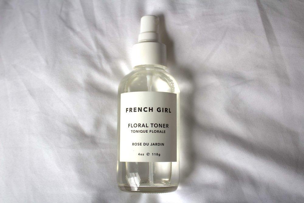 French Girl - Floral Toner $32
