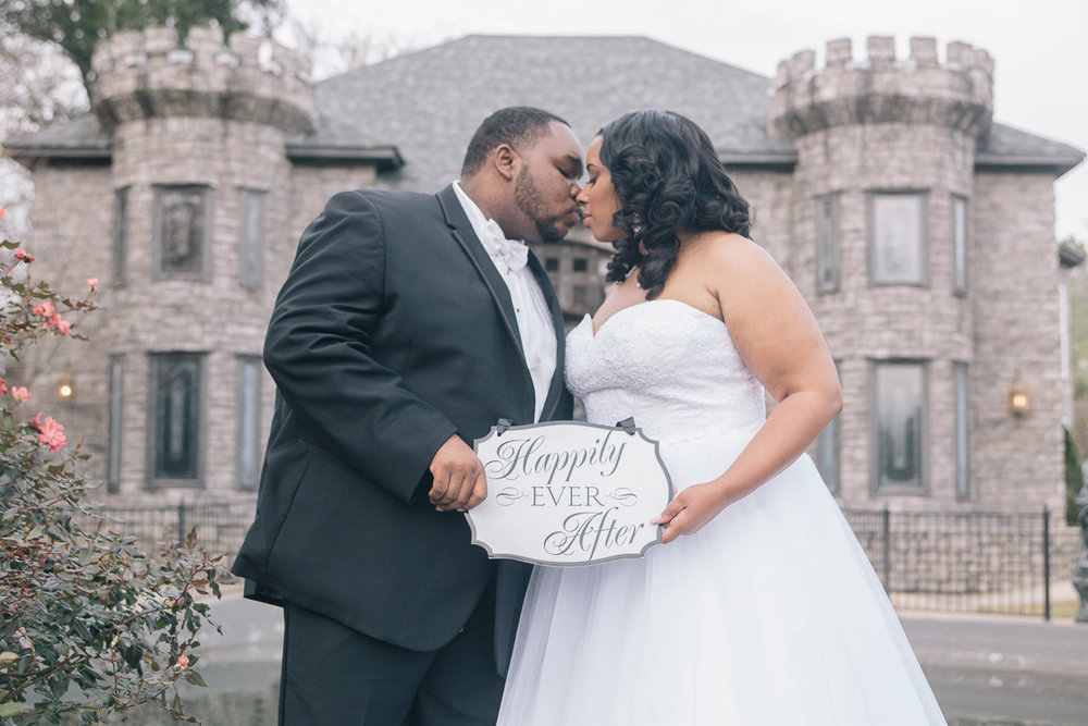 Sterling Castle wedding photography in Shelby, Alabama