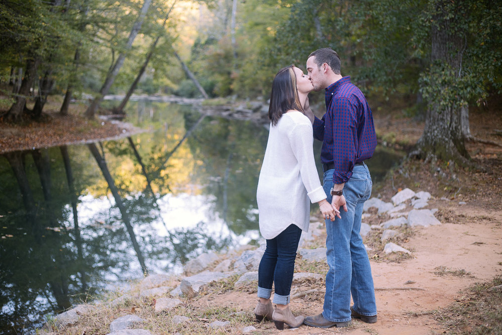 Alabama engagement photography at Tannehill State Park