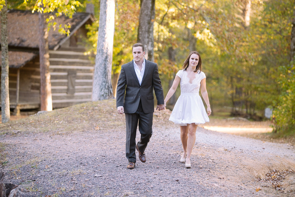 Tannehill State Park engagement photography