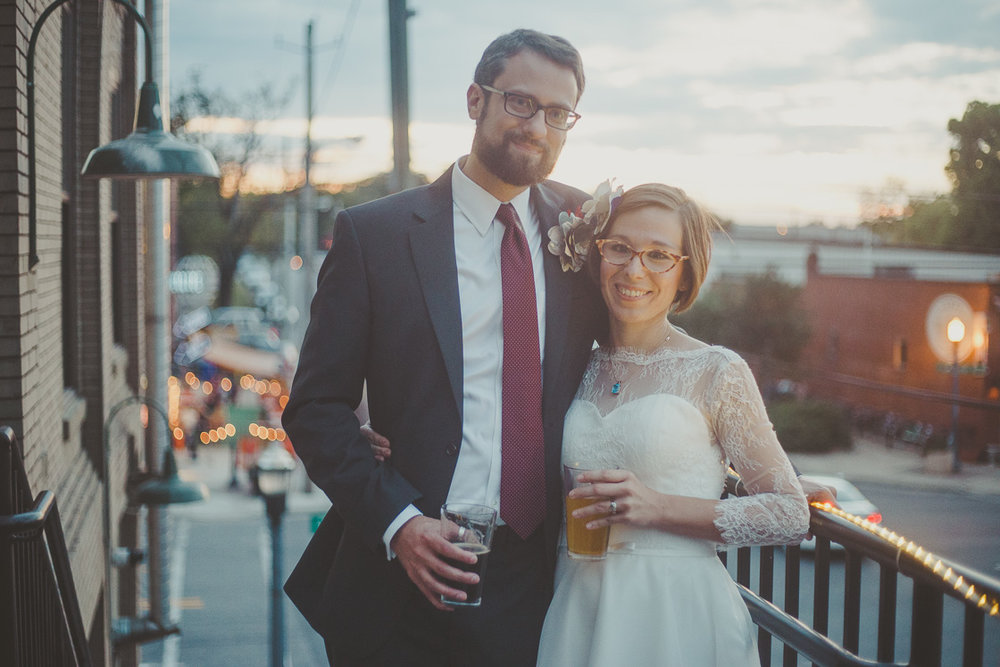 Avondale Brewing wedding photography in Birmingham, Alabama