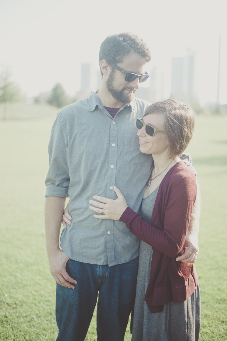 Railroad Park engagement photography in Birmingham, Alabama