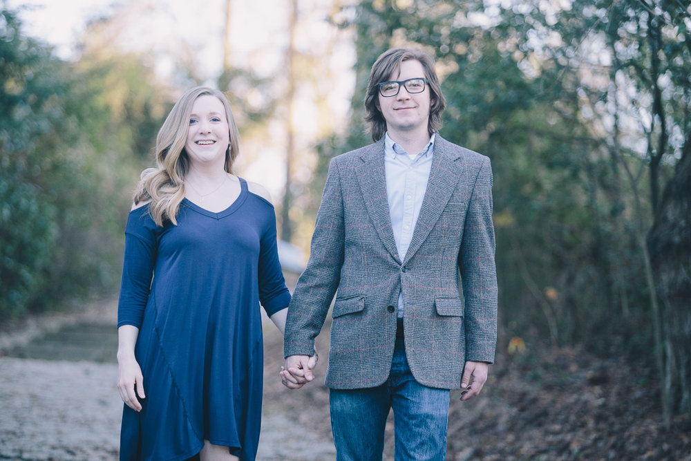 Winter engagement photography in Tuscaloosa, Alabama by David A. Smith of DSmithImages Wedding Photography, Portraits, and Events in Birmingham, Alabama