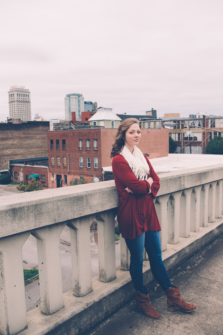 Senior portrait photography in Birmingham, Alabama