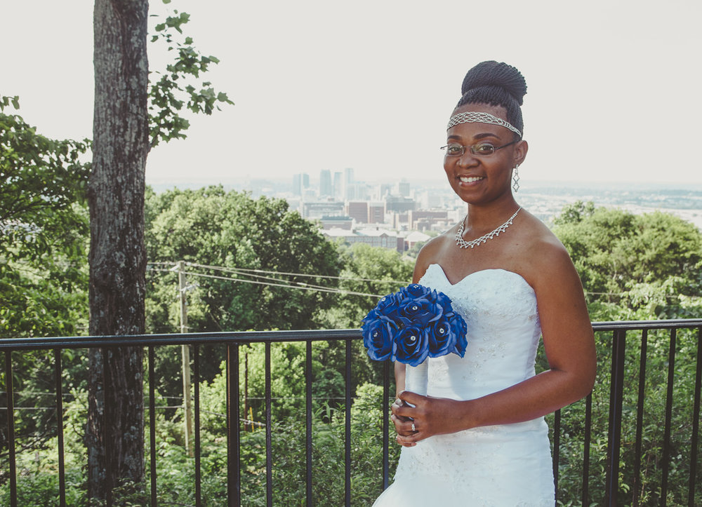 Birmingham, Alabama wedding photography at Vulcan Park by David A. Smith of DSmithImages Wedding Photography, Portraits, and Events