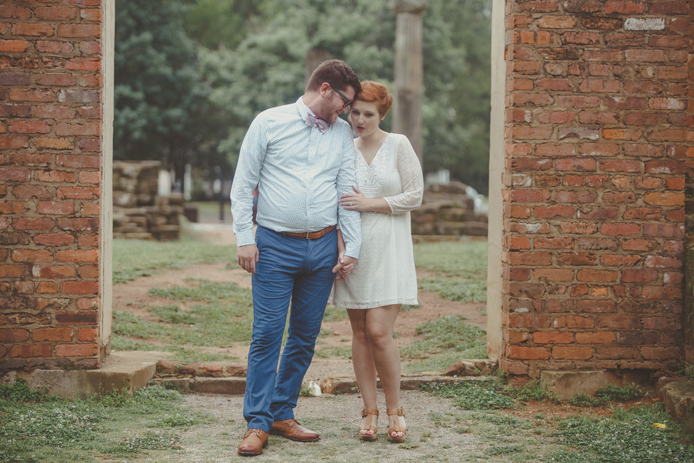 Engagement photography at Capitol Park in Tuscaloosa, Alabama by David A. Smith/DSmithImages of Birmingham