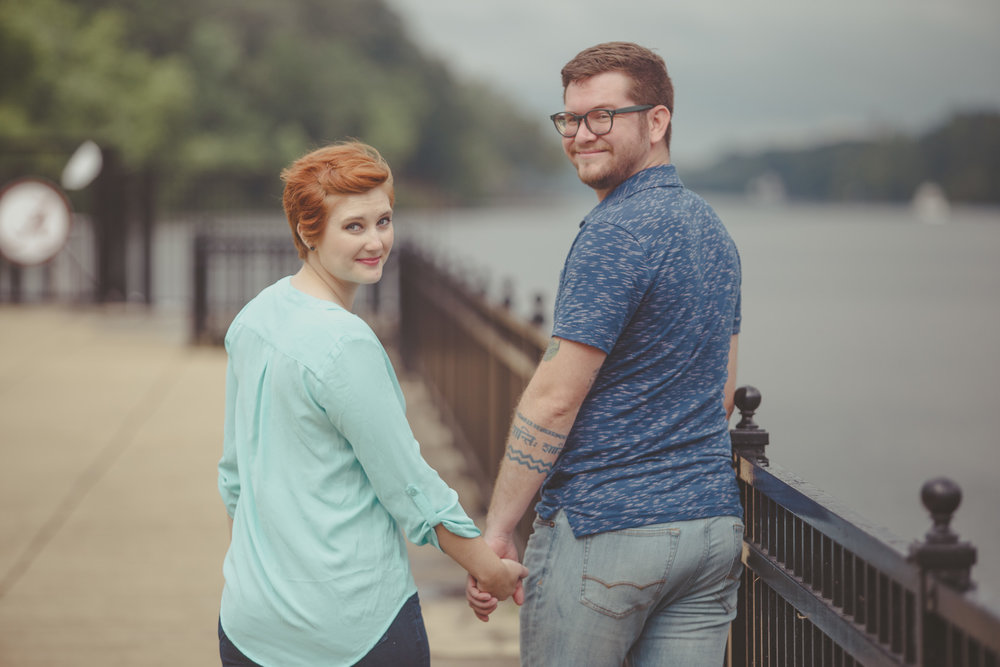 Engagement photography at the Park at Manderson Landing in Tuscaloosa, Alabama by David A. Smith/DSmithImages of Birmingham