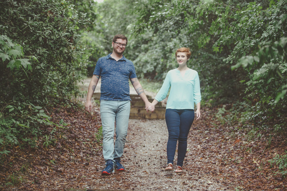 Engagement photography at Queen City Park in Tuscaloosa, Alabama by David A. Smith/DSmithImages of Birmingham