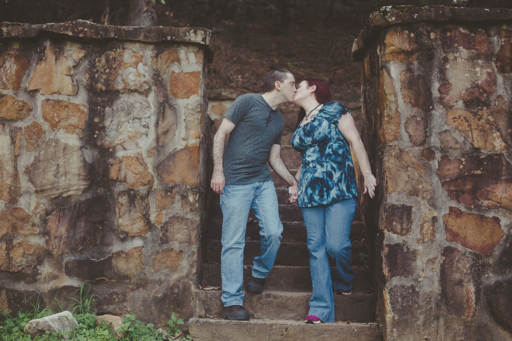 Engagement photography at Avondale Park in the Avondale neighborhood of Birmingham, Alabama by David A. Smith of DSmithImages Wedding Photography, Portraits, and Events