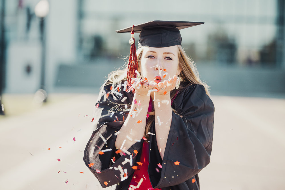 University of Alabama graduation portrait photography with Stephanie in Tuscaloosa, Alabama on November 19th, 2017 by David A. Smith of DSmithImages Wedding Photography, Portraits, and Events in the Birmingham, Alabama area.