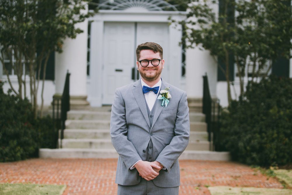 Wedding photography at The University Club in Tuscaloosa, Alabama on March 10th, 2018 by David A. Smith of DSmithImages Wedding Photography, Portraits, and Events in the Birmingham, Alabama area.