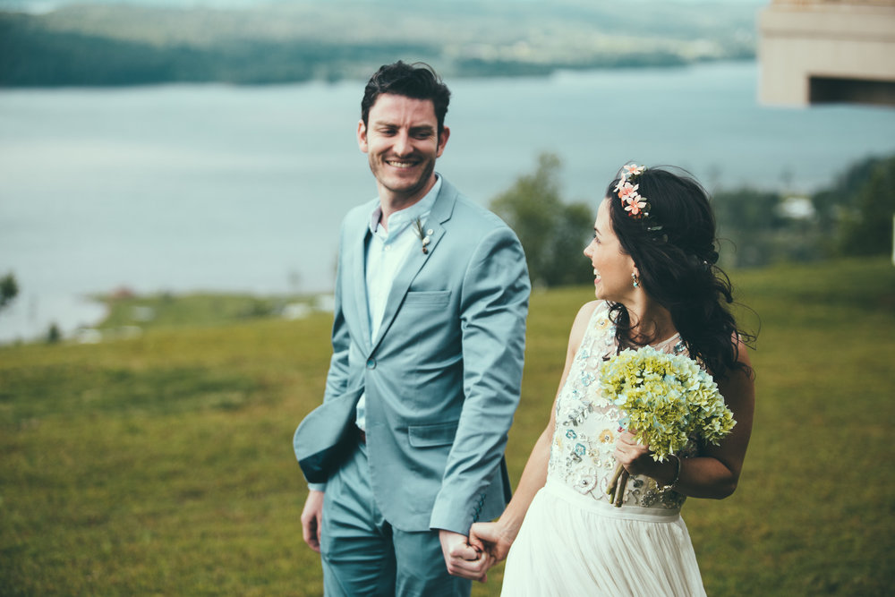 First Look wedding photography at Lake Guntersville State Park in Guntersville, Alabama by David A. Smith of DSmithImages Wedding Photography, Portraits, and Events in the Birmingham, Alabama area.