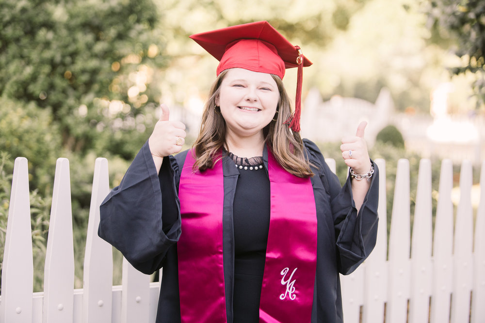 University of Alabama graduation portraits in Tuscaloosa, Alabama by David A. Smith of DSmithImages Wedding Photography, Portraits, and Events in the Birmingham, Alabama area.