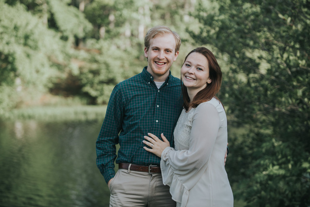 Alabama engagement photography at Oak Mountain State Park in Pelham, Alabama by David A. Smith of DSmithImages Wedding Photography, Portraits, and Evets in the Birmingham, Alabama area.