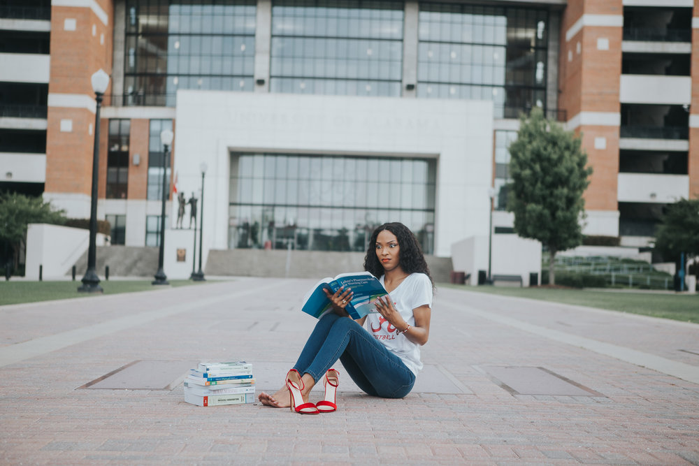 University of Alabama Graduation Portraits in Tuscaloosa, Alabama on June 9th, 2018 by David A. Smith of DSmithImages Wedding Photography, Portraits, and Events in the Birmingham, Alabama area.